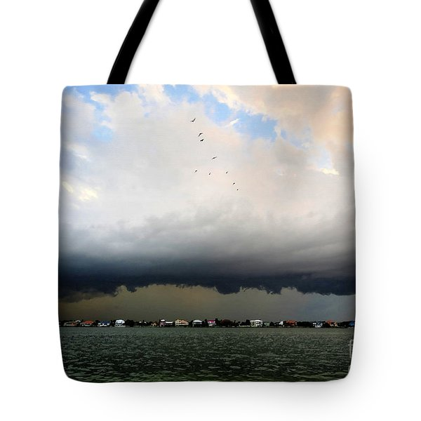 Into The Storm Tote Bag by David Lee Thompson