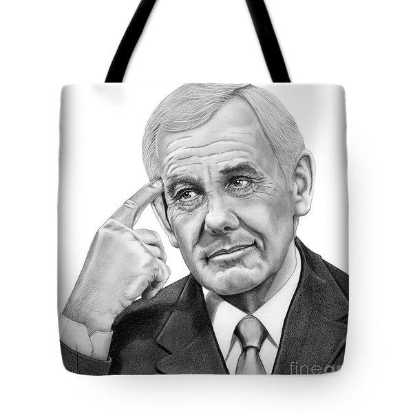 Johnny Carson Tote Bag by Murphy Elliott