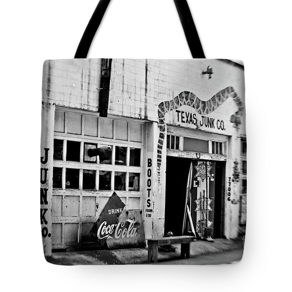 Junk Company Tote Bag by Scott Pellegrin
