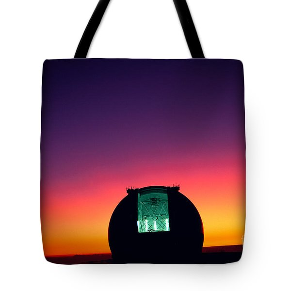 Keck Observatory Tote Bag by Peter French - Printscapes