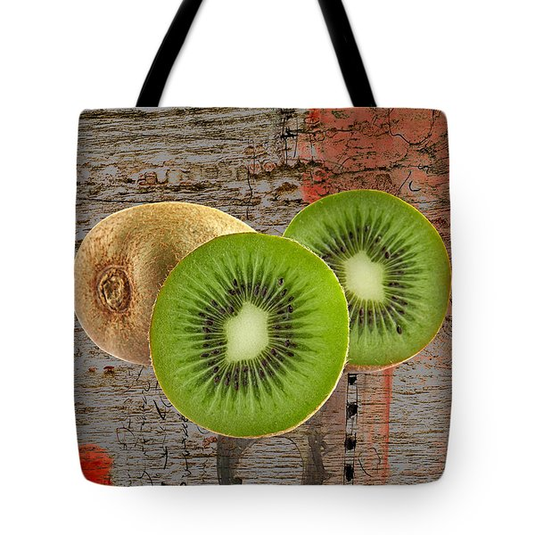 Kiwi Collection Tote Bag by Marvin Blaine