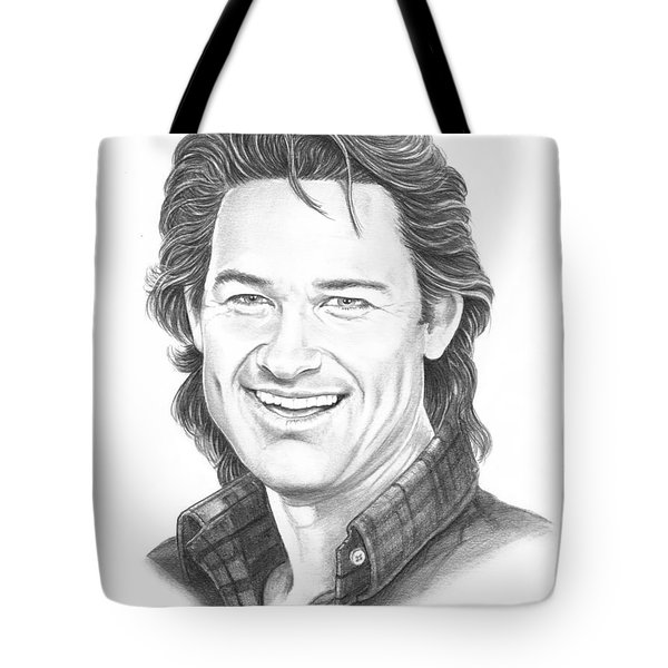Kurt Russell Tote Bag by Murphy Elliott