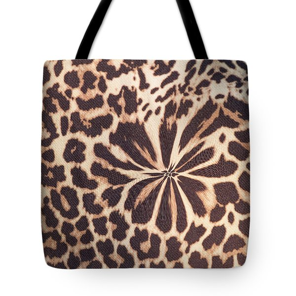 Leopard Fur Tote Bag by Ornella Bonomini