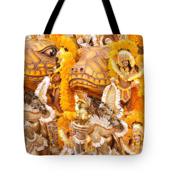 Lets Samba Tote Bag by Sebastian Musial