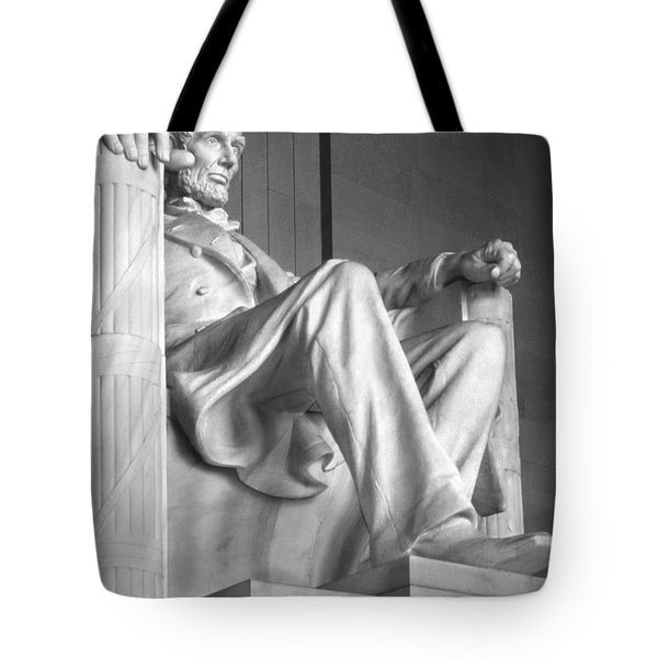 Lincoln Memorial Tote Bag by Mike McGlothlen