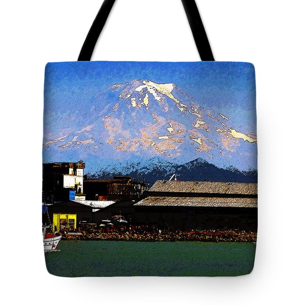 Little Boat Tote Bag by David Lee Thompson