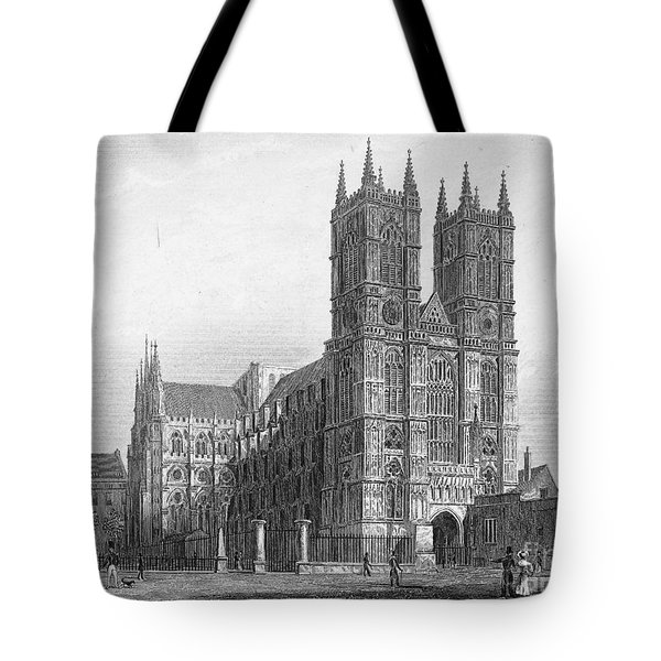 London: Westminster Abbey Tote Bag by Granger