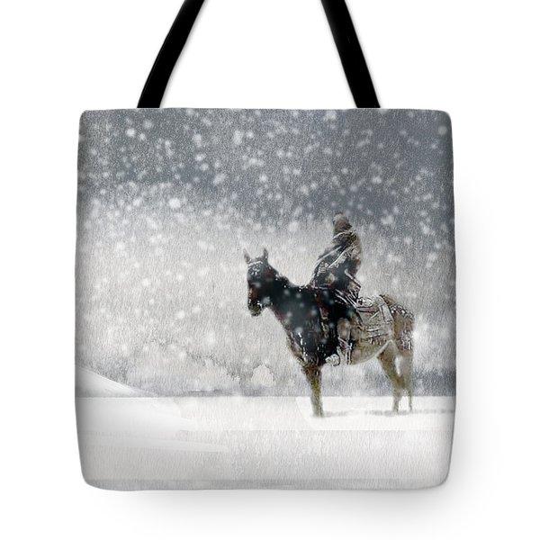 Longest Winter Tote Bag by Paul Sachtleben