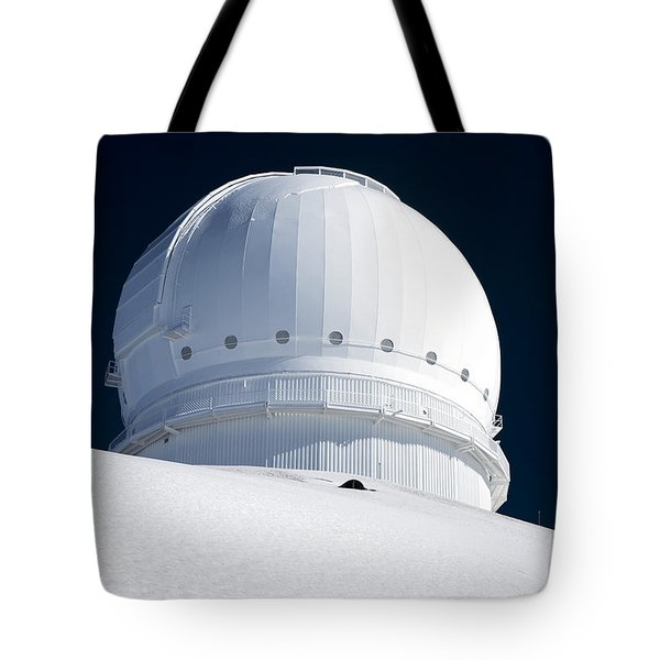 Mauna Kea Observatory Tote Bag by Peter French - Printscapes