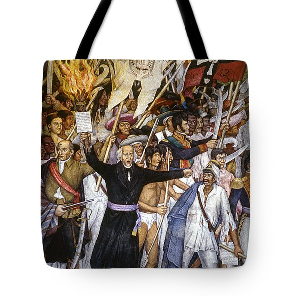 Mexico: 1810 Revolution Tote Bag by Granger