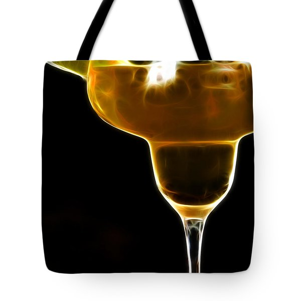 Mexico Gold . Lime Margarita Tote Bag by Wingsdomain Art and Photography