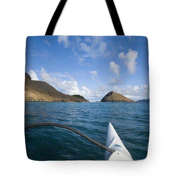 Mokulua Islands Tote Bag by Dana Edmunds - Printscapes