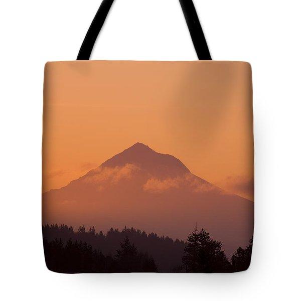 Mount Hood, Oregon, Usa Tote Bag by Craig Tuttle