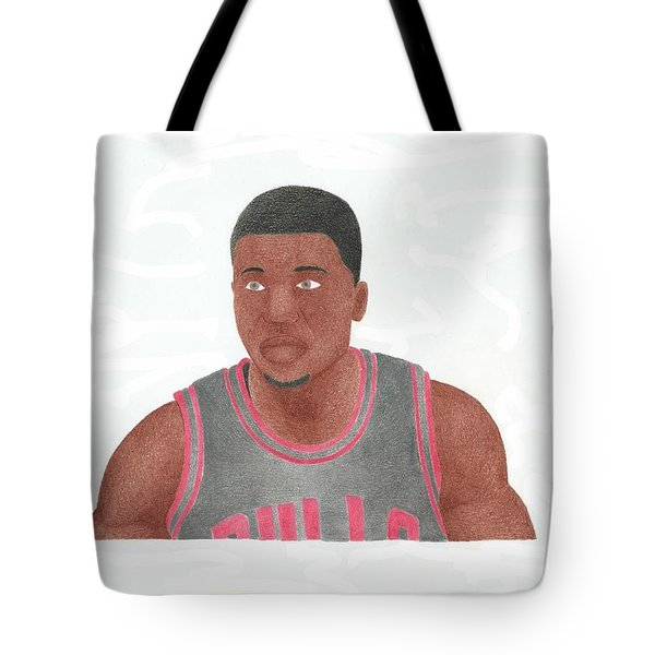 Nate Robinson Tote Bag by Toni Jaso