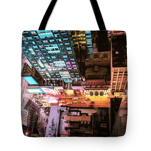 New York City - Night Tote Bag by Vivienne Gucwa