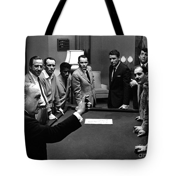 Ocean's 11 Promotional Photo. Tote Bag by The Titanic Project