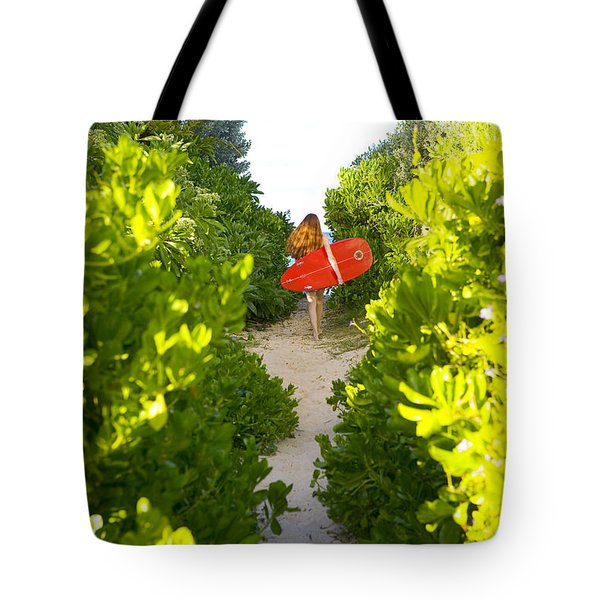 On Vacation Tote Bag by Dana Edmunds - Printscapes