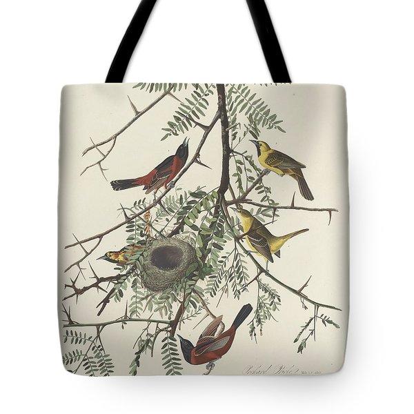 Orchard Oriole Tote Bag by John James Audubon