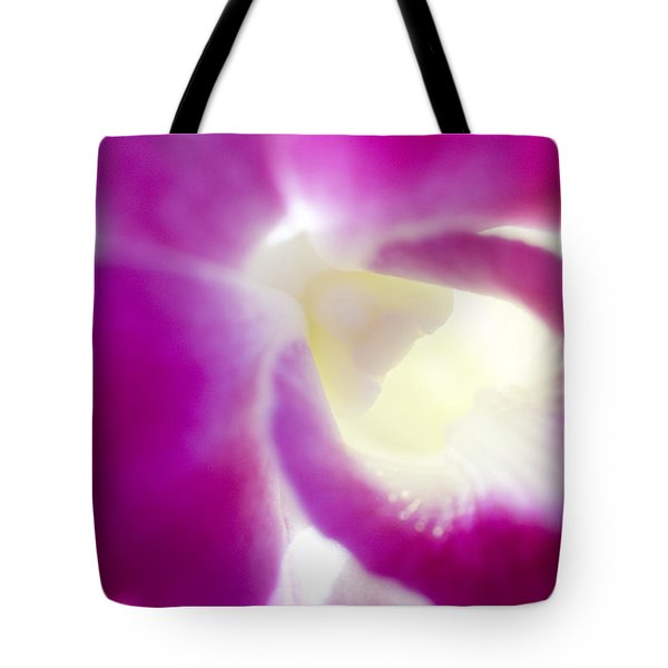 Orchid Abstract Tote Bag by Ray Laskowitz - Printscapes
