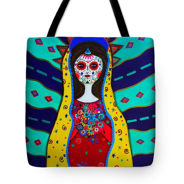 Our Lady Of Guadalupe Tote Bag by Pristine Cartera Turkus