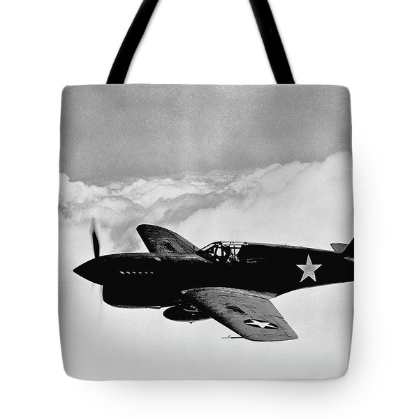 P-40 Warhawk Tote Bag by War Is Hell Store