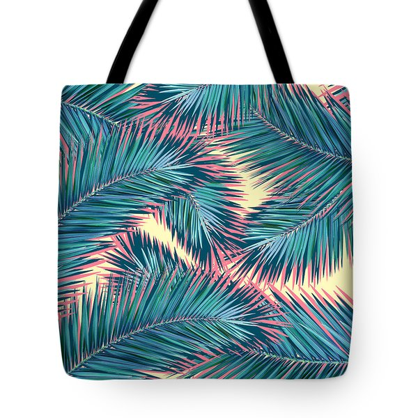 Palm Trees  Tote Bag by Mark Ashkenazi