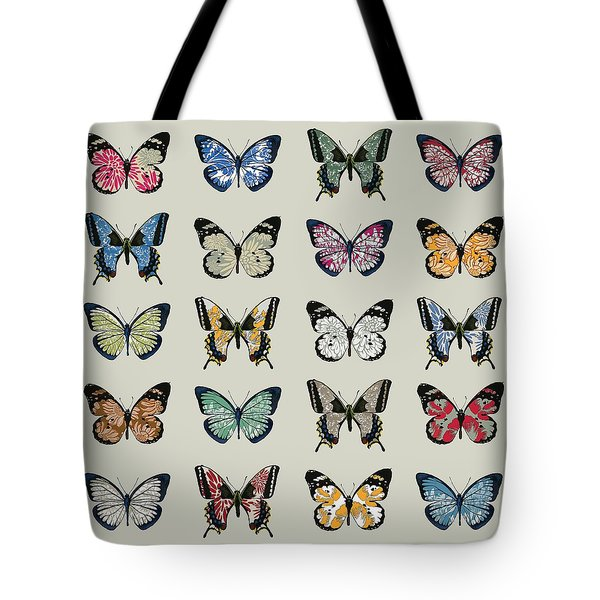 Papillon Tote Bag by Sarah Hough