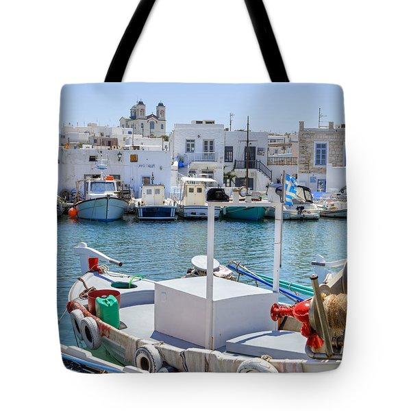 Paros - Cyclades - Greece Tote Bag by Joana Kruse