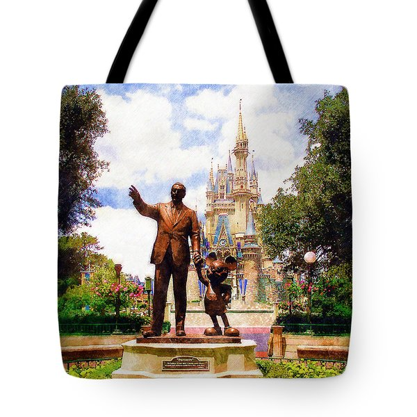 Partners Tote Bag by Sandy MacGowan