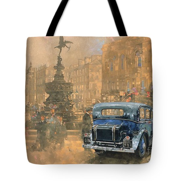 Phantom In Piccadilly  Tote Bag by Peter Miller