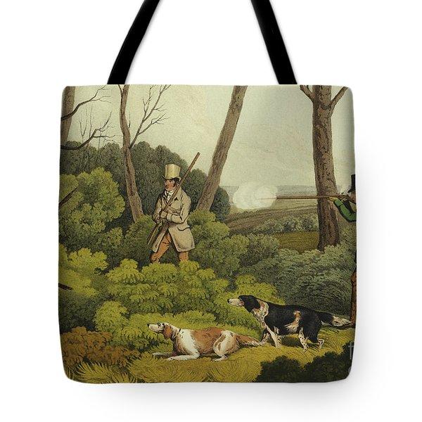 Pheasant Shooting Tote Bag by Henry Thomas Alken