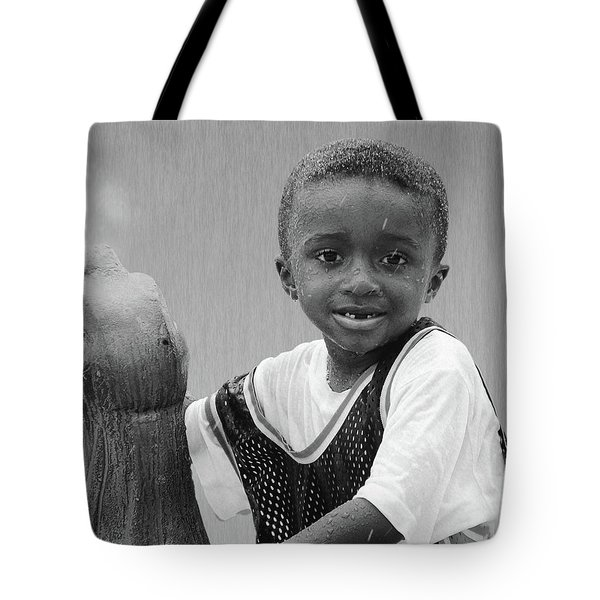 Philly Fountain Kid Tote Bag by Brian Wallace