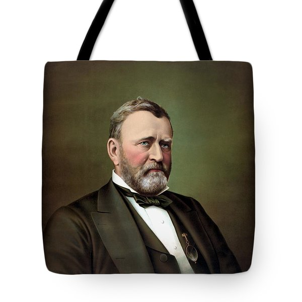 President Ulysses S Grant Tote Bag by War Is Hell Store