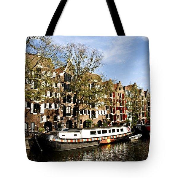 Prinsengracht Tote Bag by Fabrizio Troiani