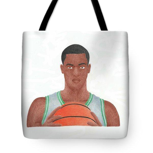 Rajon Rondo Tote Bag by Toni Jaso