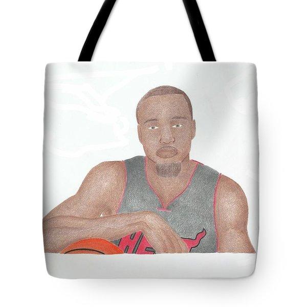 Rashard Lewis Tote Bag by Toni Jaso