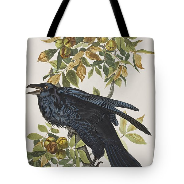 Raven Tote Bag by John James Audubon