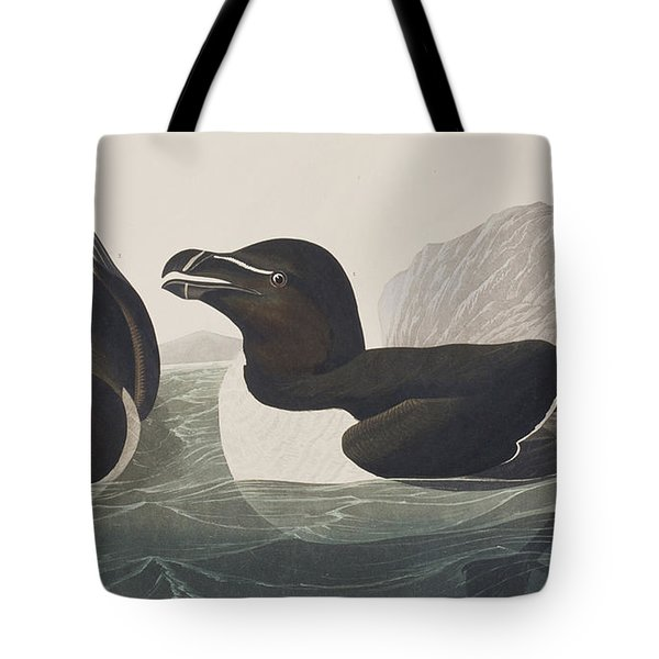 Razor Bill Tote Bag by John James Audubon