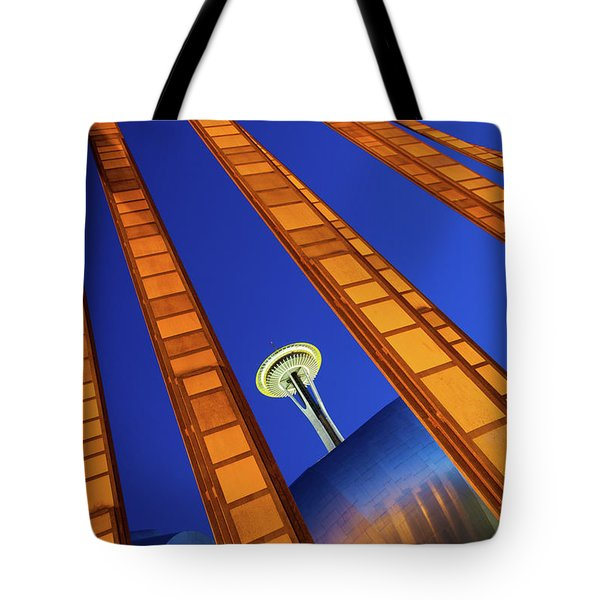 Reach For The Sky Tote Bag by Inge Johnsson