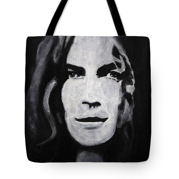 Robert Plant Tote Bag by William Walts