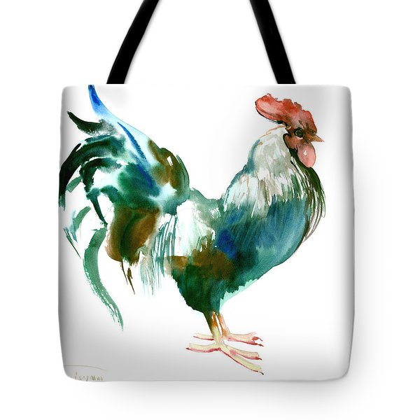 Rooster Tote Bag by Suren Nersisyan