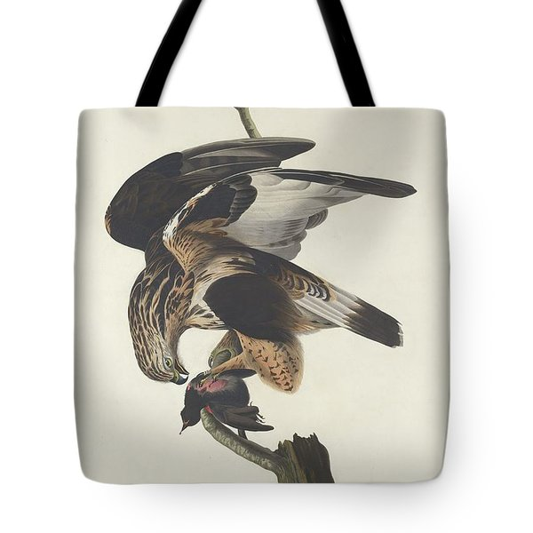 Rough Legged Falcon Tote Bag by John James Audubon