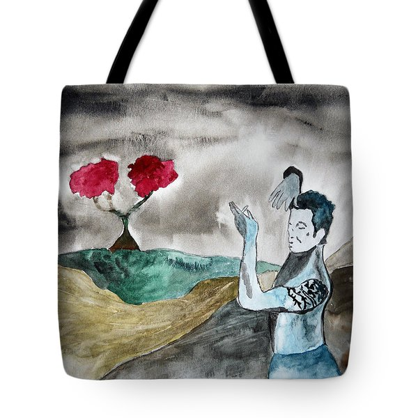 Scott Weiland - Stone Temple Pilots - Music Inspiration Series Tote Bag by Carol Crisafi