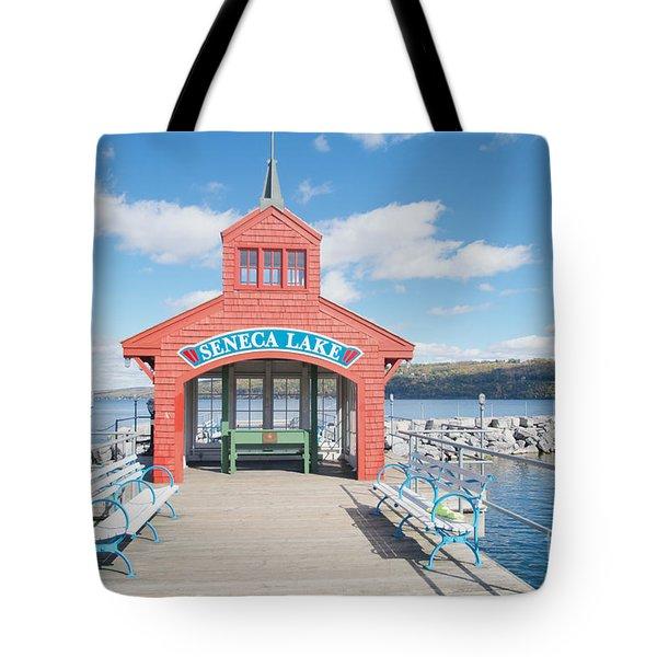 Seneca Lake Tote Bag by William Norton