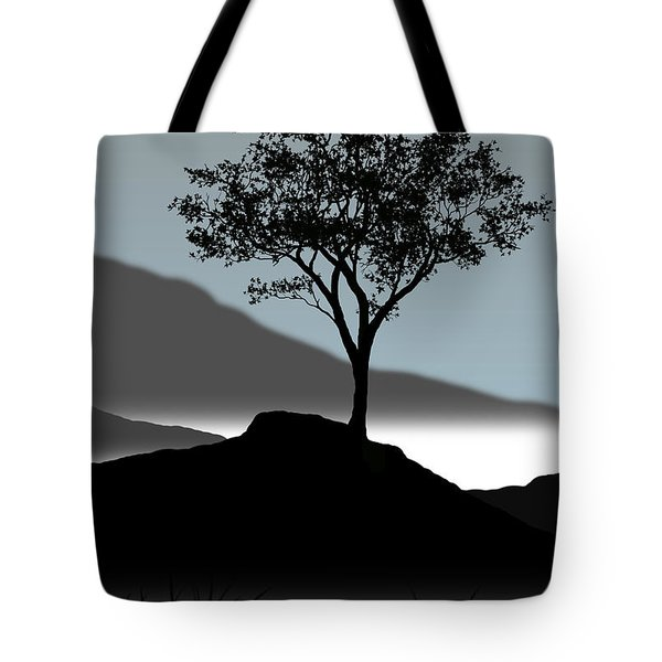Serene Tote Bag by Chris Brannen