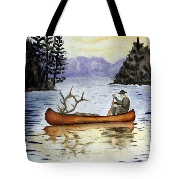Solitude Tote Bag by JIMMY SMITH