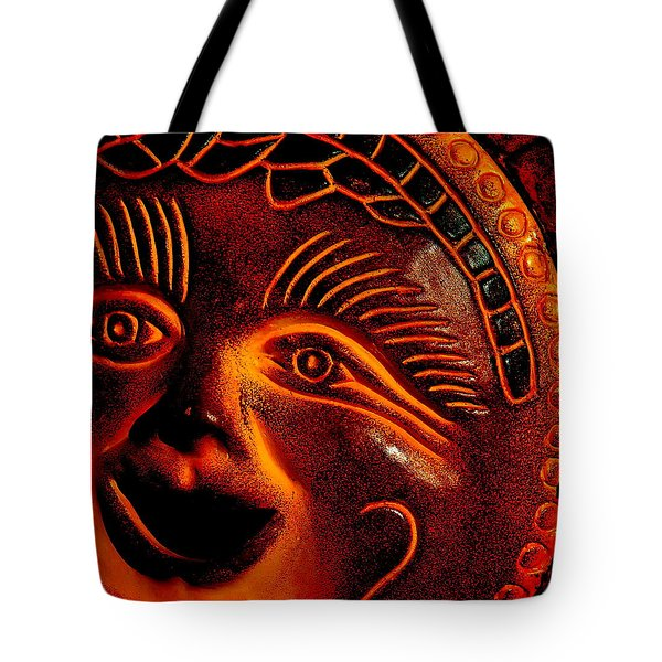 Sun Burn Tote Bag by Ed Smith