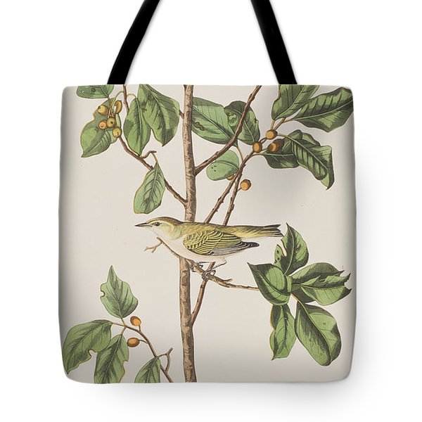 Tennessee Warbler Tote Bag by John James Audubon