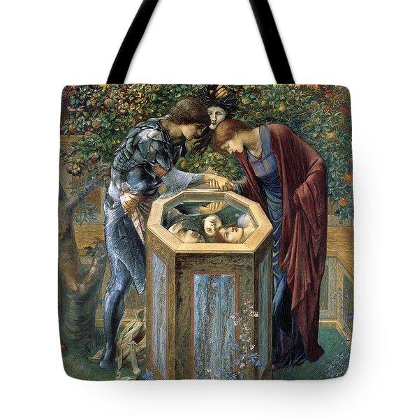 The Baleful Head Tote Bag by Edward Burne-Jones