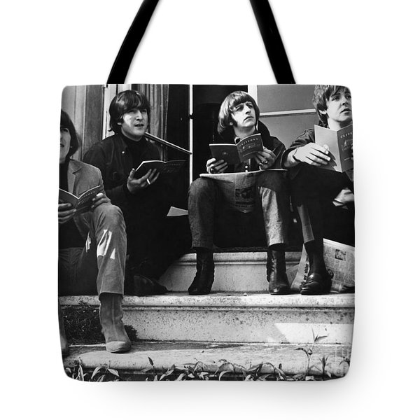 The Beatles, 1965 Tote Bag by Granger